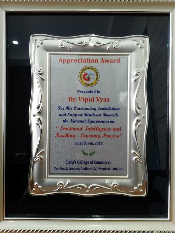 Apprciation Certificate